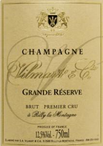 Champagne Vilmart 'Grande Réserve'