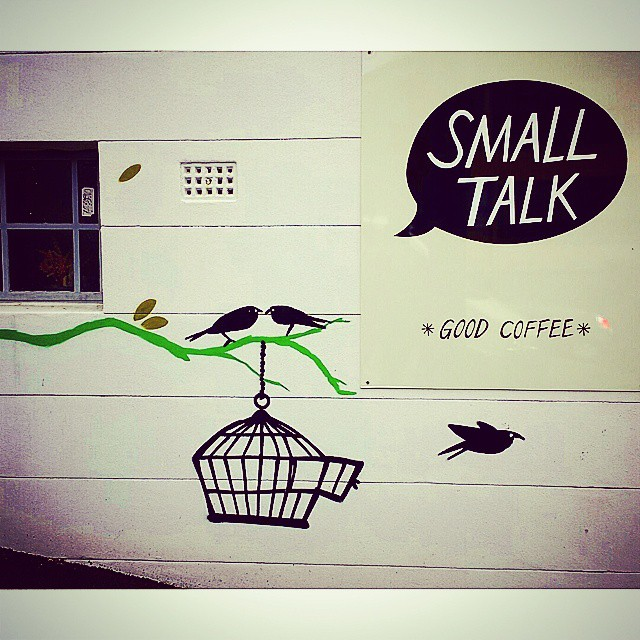 Small talk,  long chat - at our favourite spot for a bean brew in Paddo. #smalltalkespresso #brisbanecoffee #brisbanecoffeescene #paddingtoncafes #paddingtoncoffee #brisbanefoodie #GourmetGallivanting