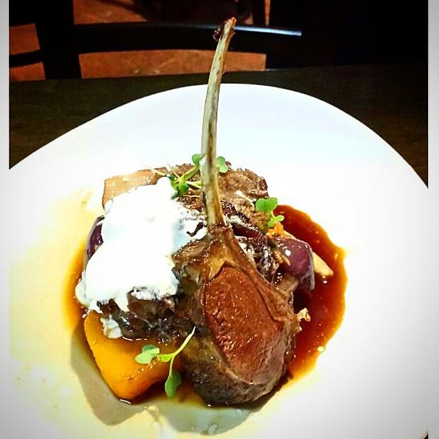 Perfect pre show food at TGB long time favourite @nextdoorkitchen. Mmm...lamb. #brisbanefoodie #brisbanebars #brisbanerestaurants #southbank #brisbaneeats #brisbanedinner #lamb #nextdoorkitchen #GourmetGallivanting