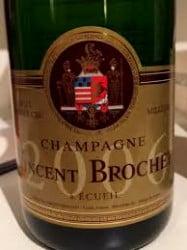 vincent brochet brut vintage 2006 premier cru champagne