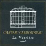 Château Carbonneau 'La Verriére' Sainte Foy Bordeaux
